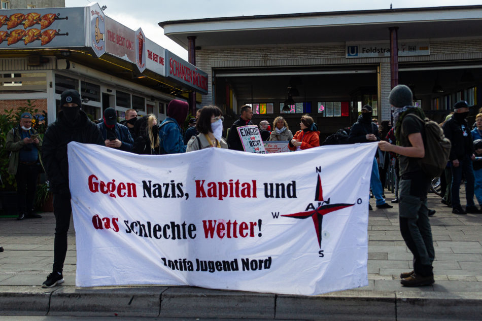 Anti Imperialistische Demonstration an der Feldstraße