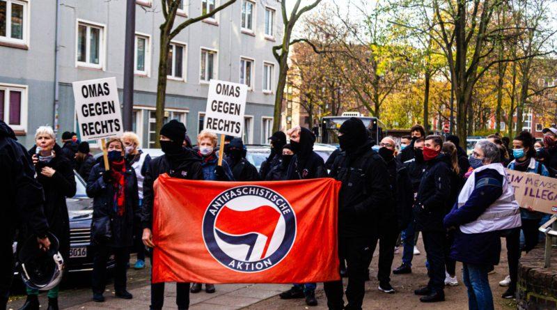 Demonstration gegen AFD Hamburg Parteitag