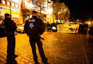 "Demonstration ""Kampf gegen Repression"" in Hamburg"