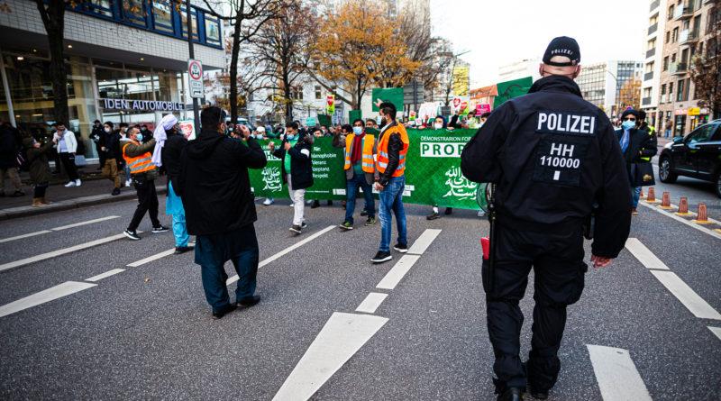 In Hamburg demonstrierten Salafisten