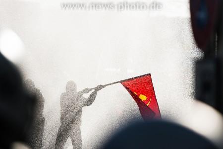 Ausschreitungen bei der Revolutionären 1. Mai Demo in Hamburg