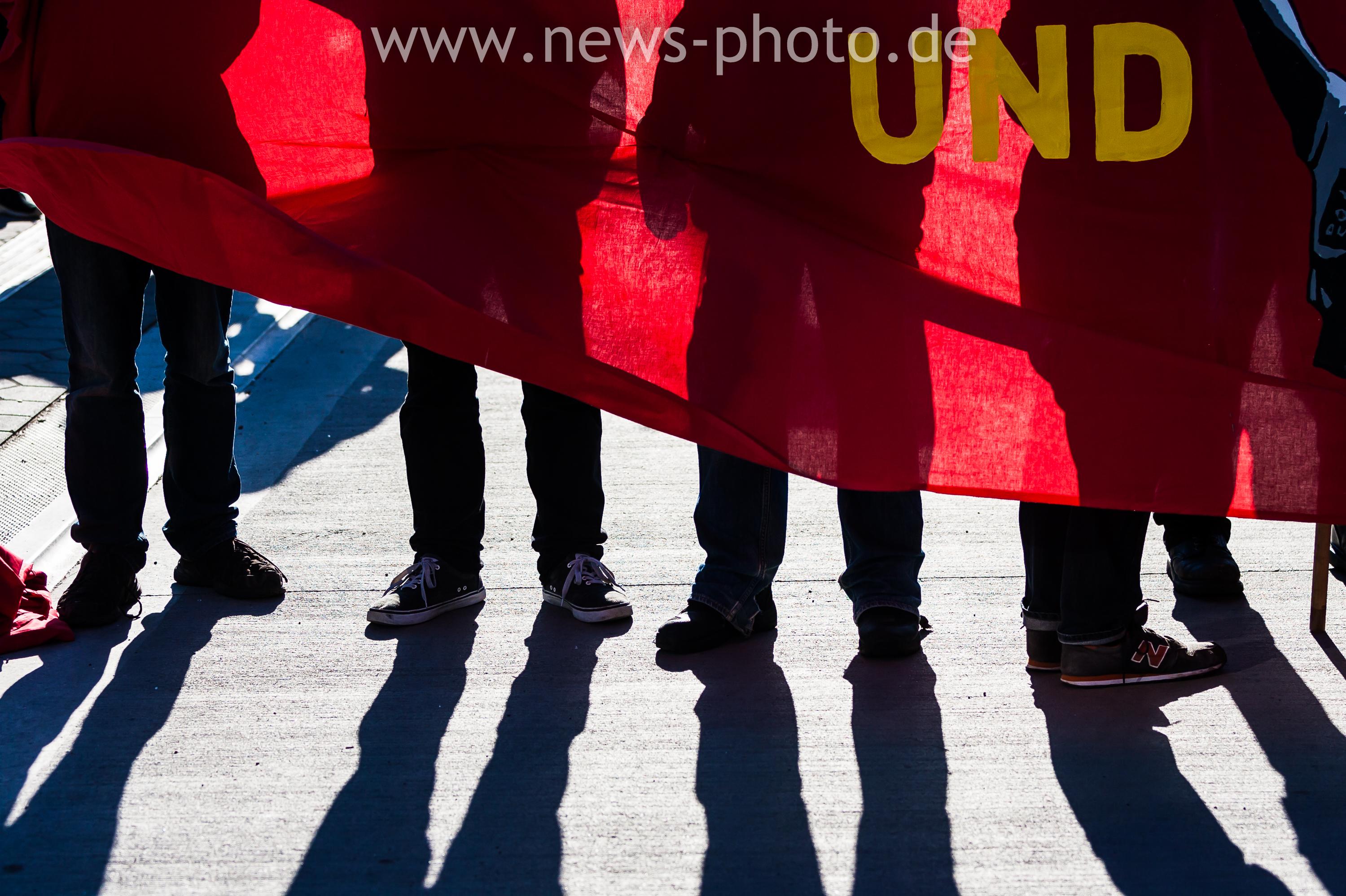 Revolutionäre 1. Mai Demonstration