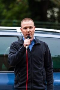 NPD Kreisvorsitzender Jens Baur