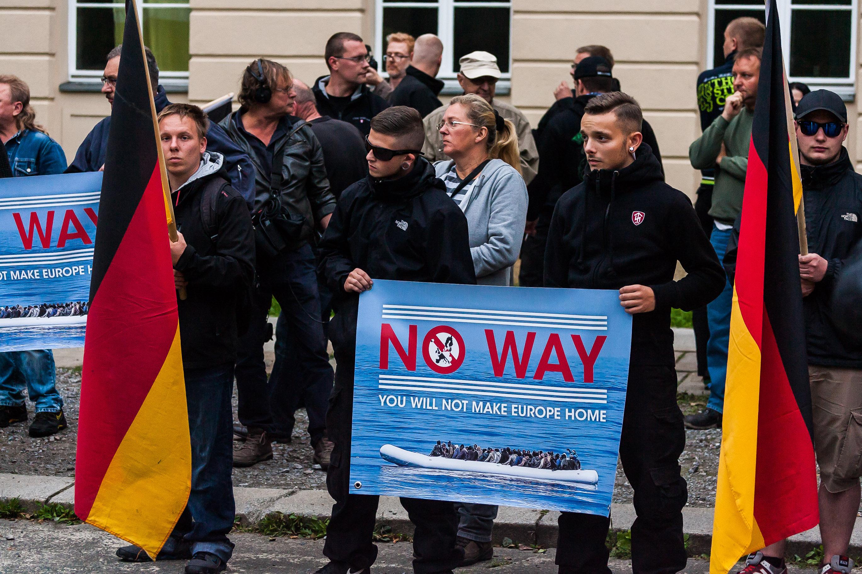 NPD Demonstration in Dresden