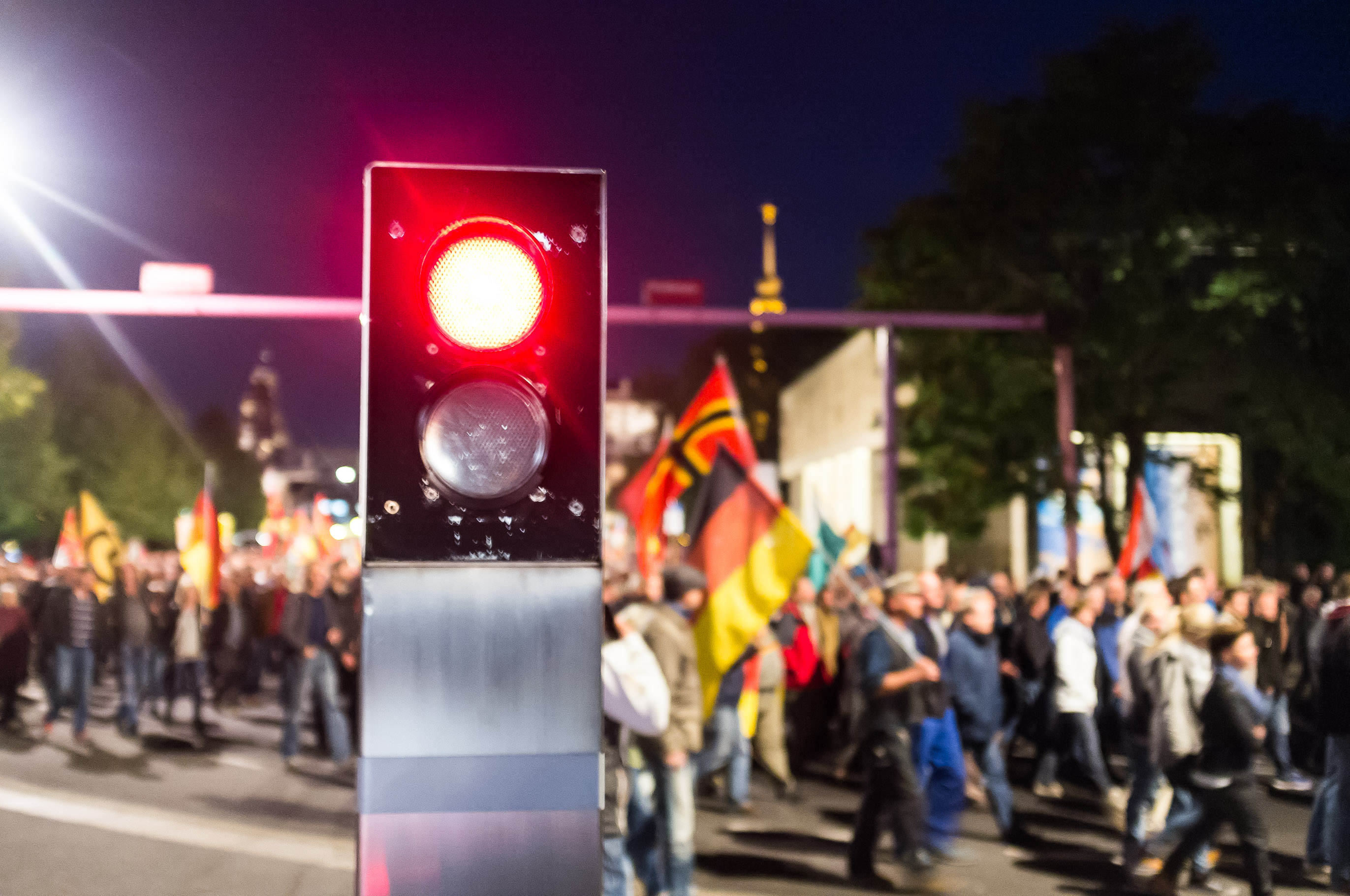 Pegida Demonstration - Festung Europa