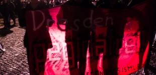 Demonstration gegen Pegida