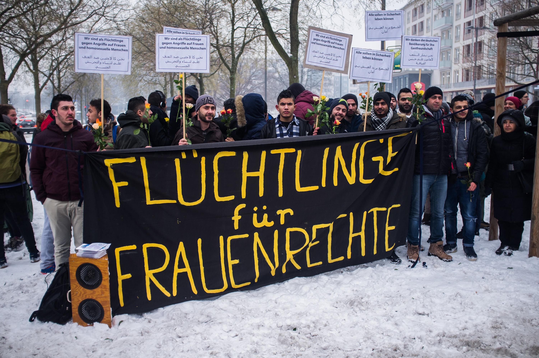 Flüchtlinge für Frauenrechte