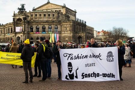 06. Februar in Dresden - Gegenprotest