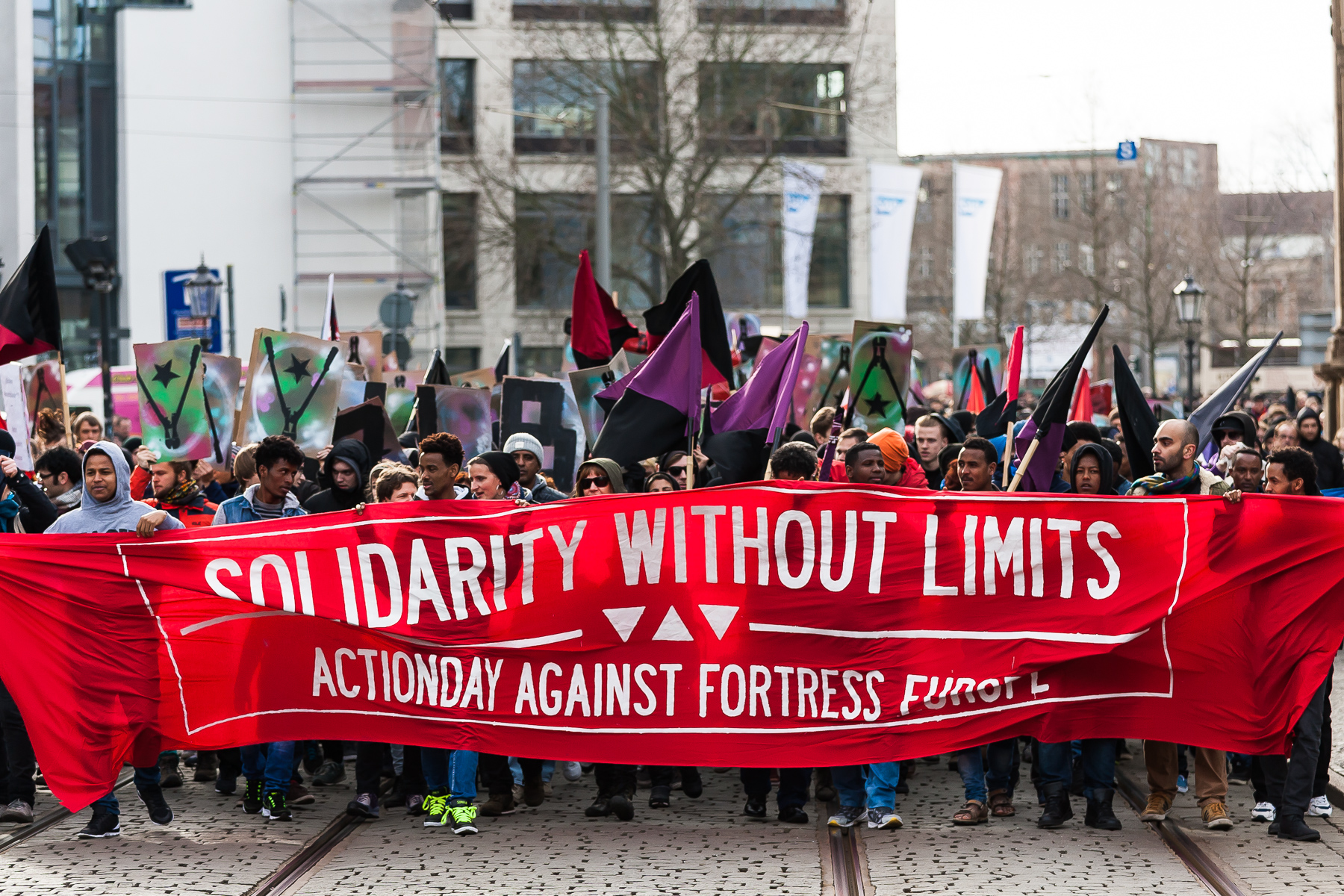 06. Februar in Dresden gegenprotest