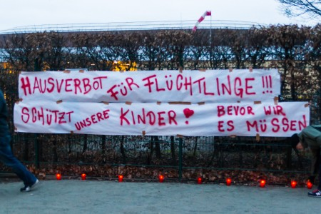 Banner am Arnhold-Bad