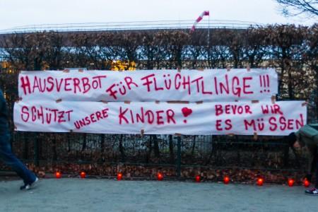 Banner am Arnhold-Bad