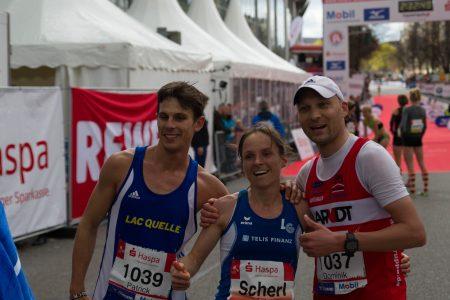 Anja Scherl wurde sensationell Dritte