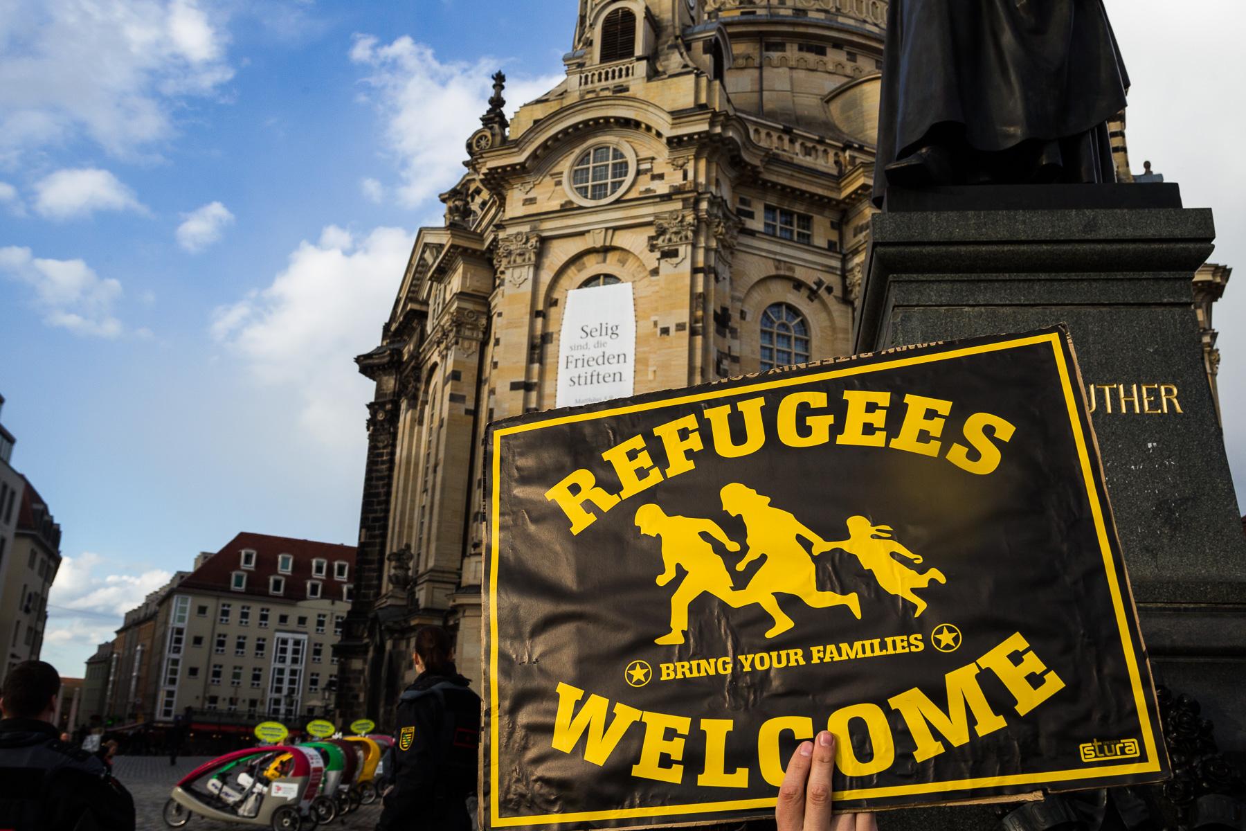 Gepida Demonstration in Dresden