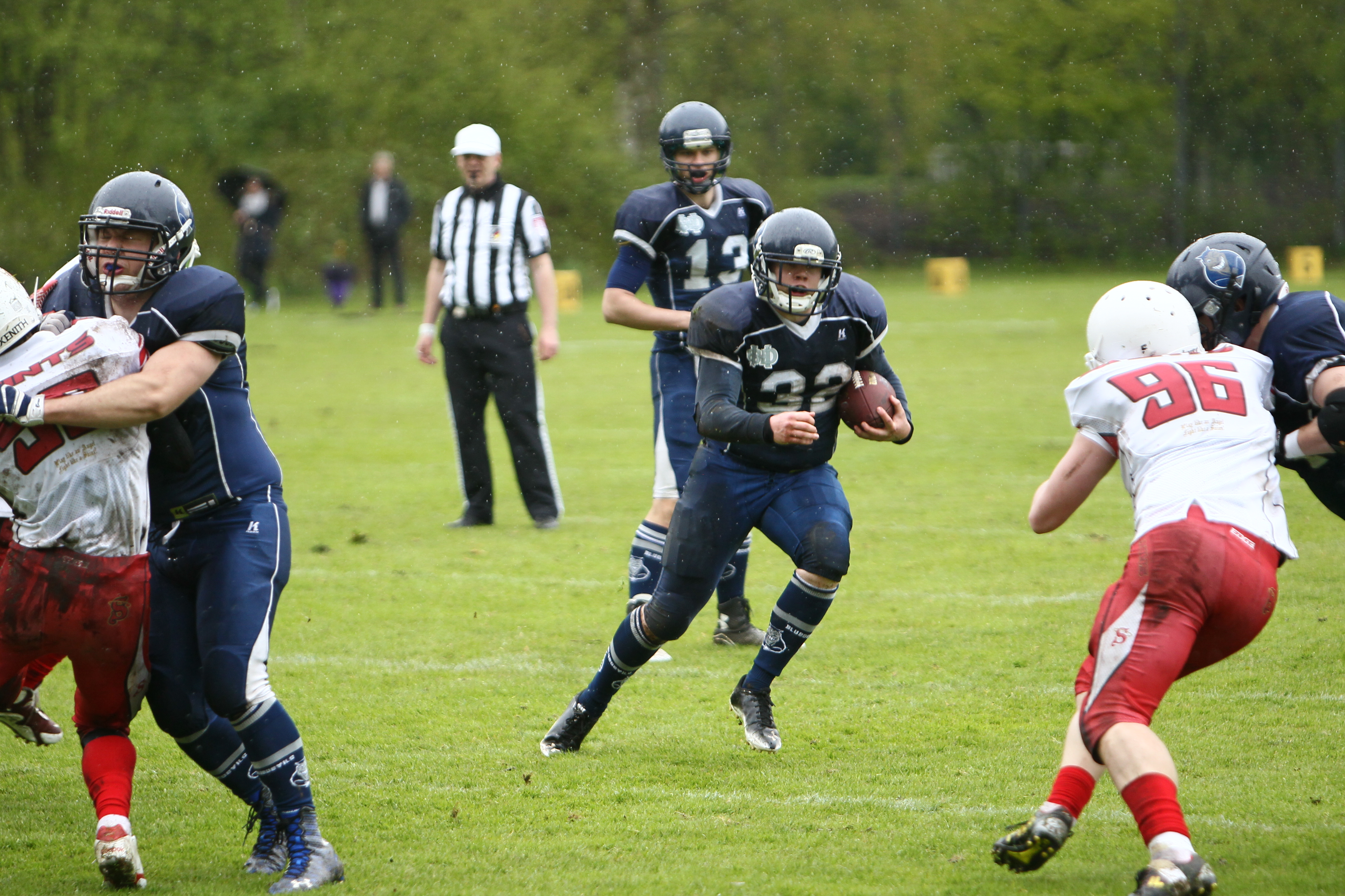 Hamburg Blue Devils vs Heide Saints