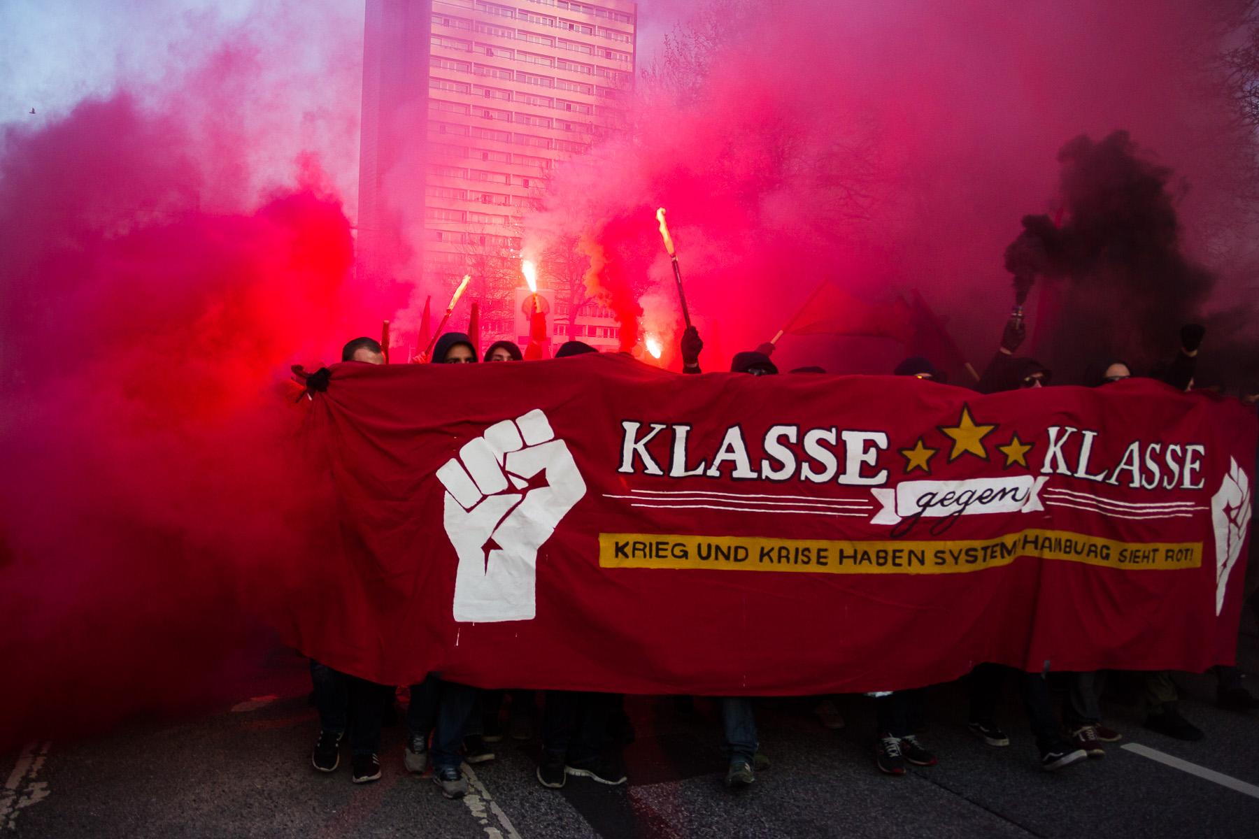 1. Mai Demo 2016 in Hamburg