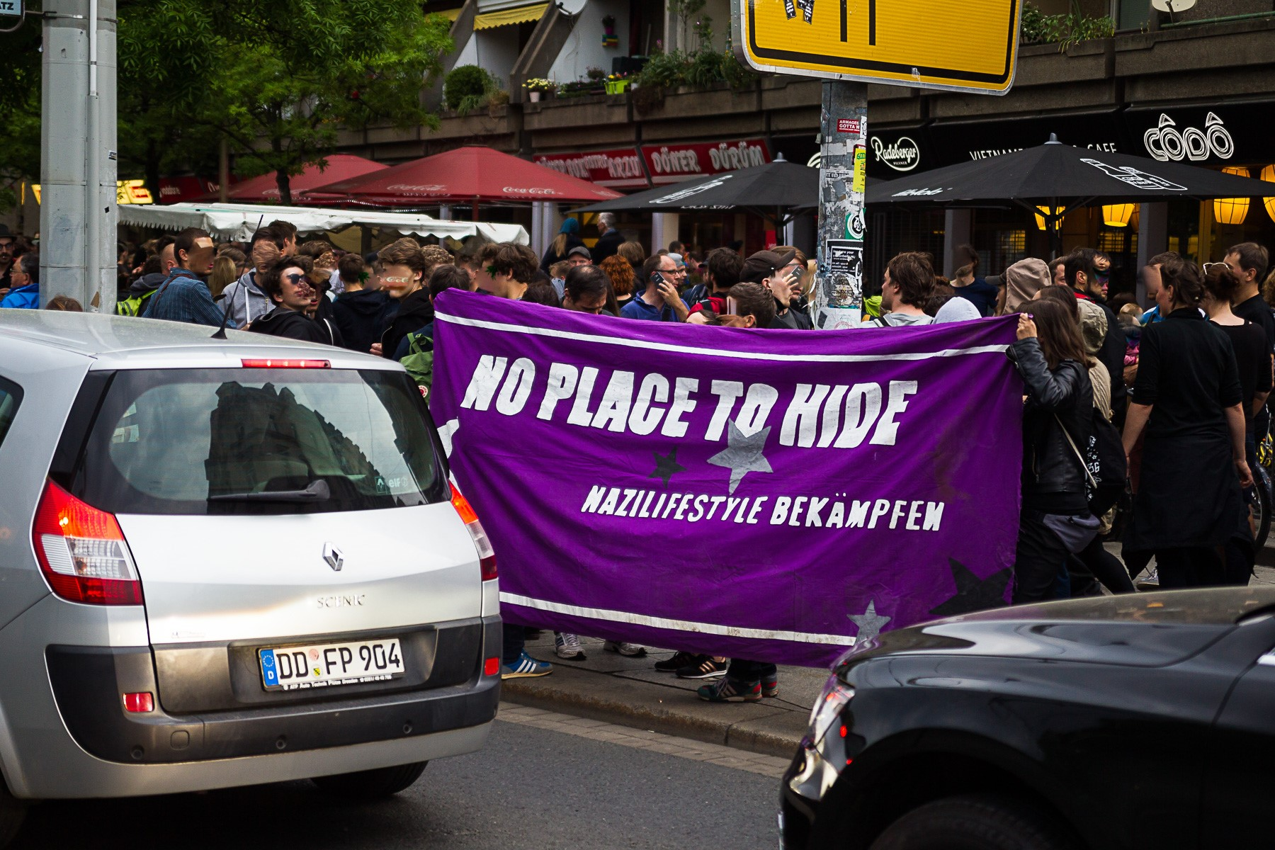Gepida Demonstriert in der Neustadt