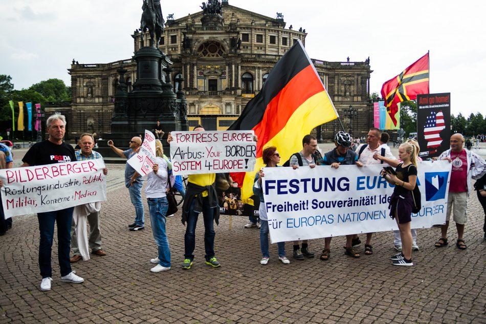 Ed und Tatjana Festerling sind auch heute wieder Unterwegs. Dieses mal mit einer angemeldeten Demonstration.