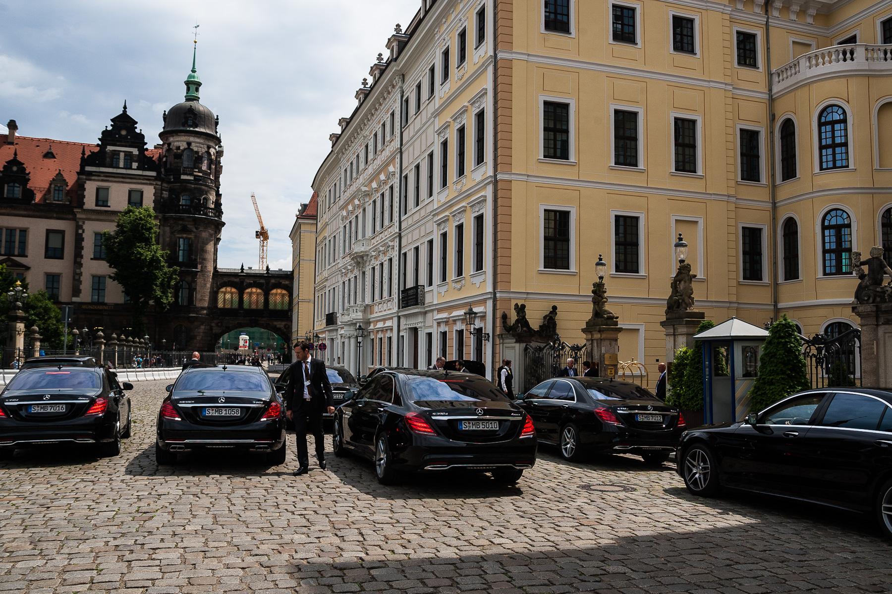 Bilderberg-Konferenz Tag 4