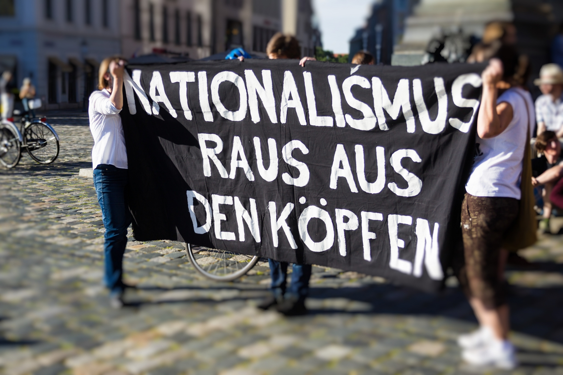 No Nope Demonstration am Montag