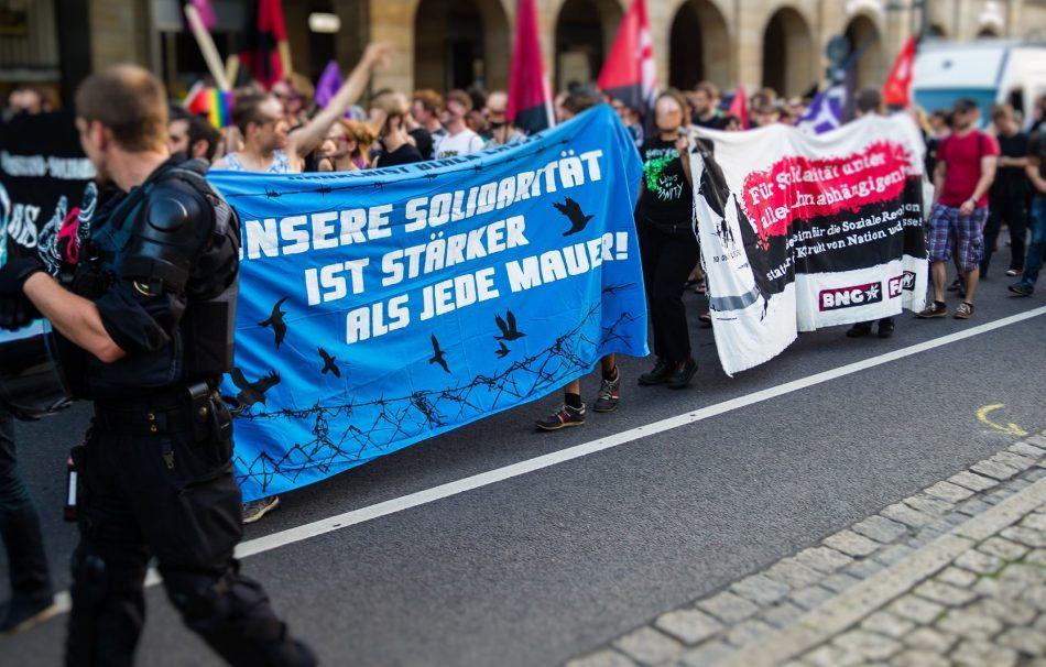 Nope Demonstration am Montag den 12.09.2016