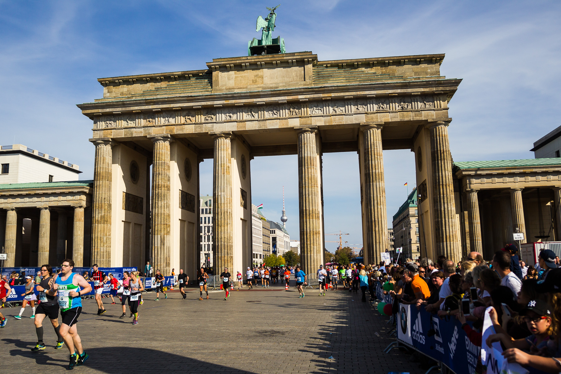 Fotos vom 42. Berlin Marathon 2016