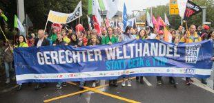 Ceta / TTIP Demo in Leipzig