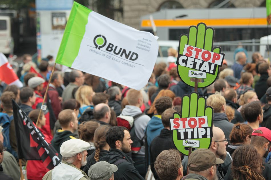 TTIP Demo in Leipzig