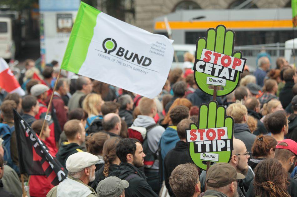 TTIP Demo in Leipzig