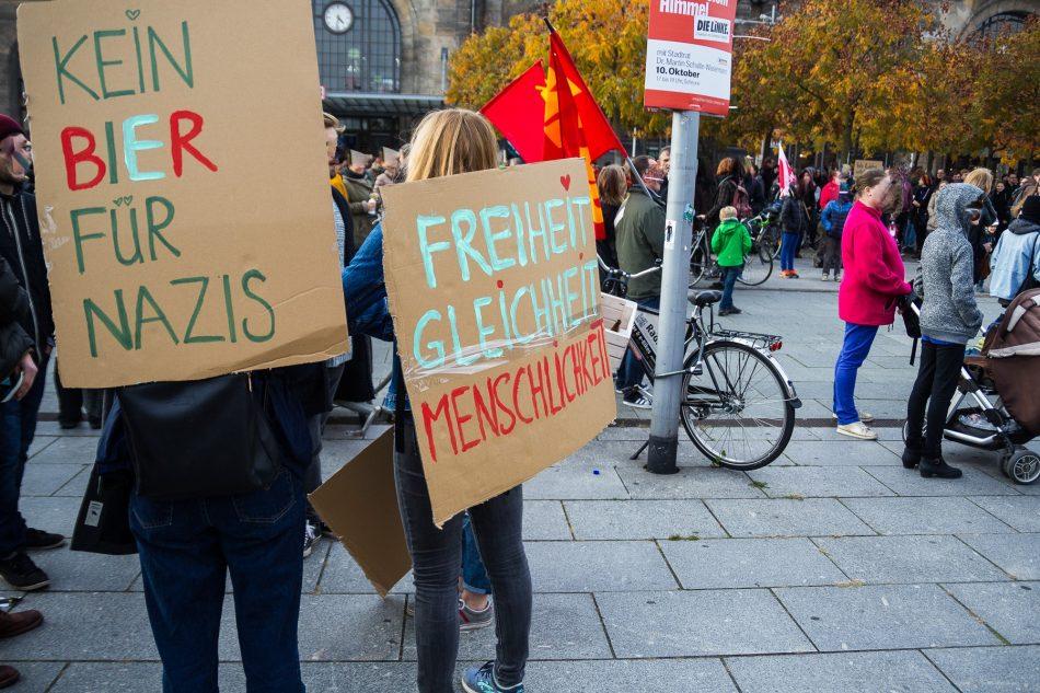 Herz statt Hetze Demonstration in Dresden