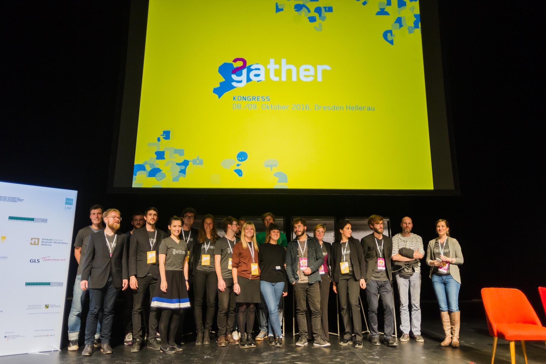 Der 2gather Kongress in Hellerau 2016