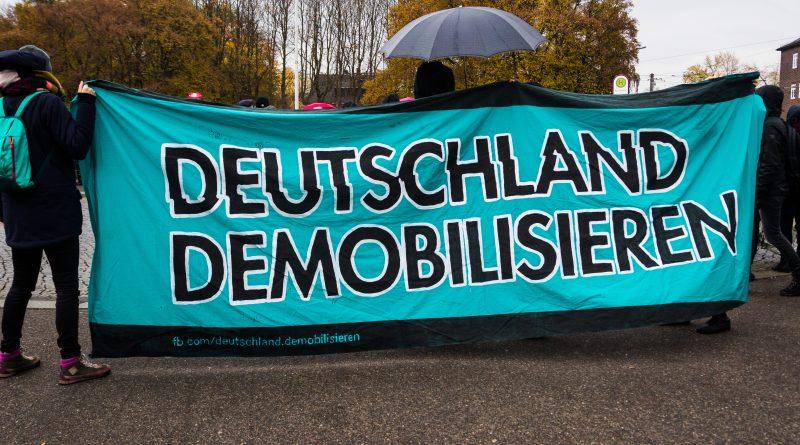 Demonstration zum 5. Jahrestag der Selbstenttarnung des NSU in Zwickau