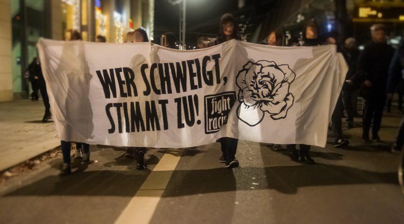Nope Demo am 21. November in Dresden