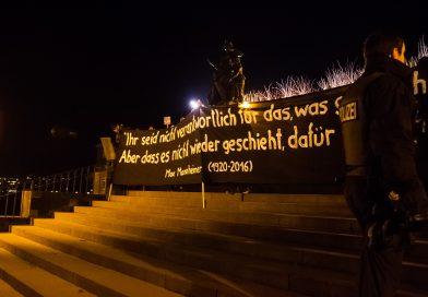 Pegida Gegenprotest in Dresden