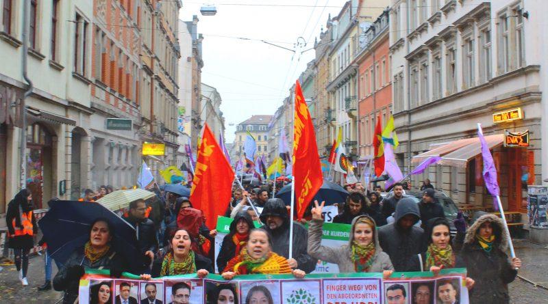 Pro-kurdische Demonstration Dresden 05.11.2016