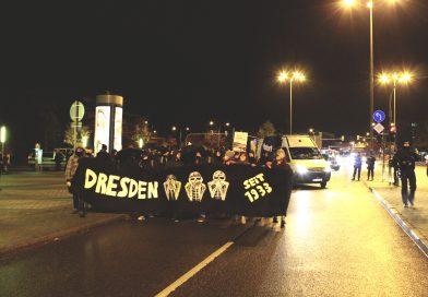 NOPE Demo am 07.11.2016 in Dresden