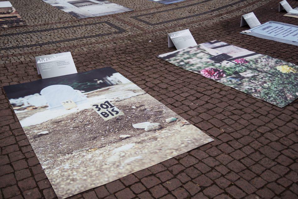 Die Fotos der Gräber von Lampedusa361 sind zum Teil sehr bedrückend