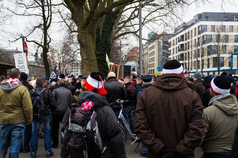 Die Demonstration des Holocaust-Leugner Gerhard Ittner