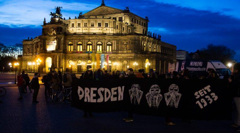 27. Februar Nope Demonstration in Dresden