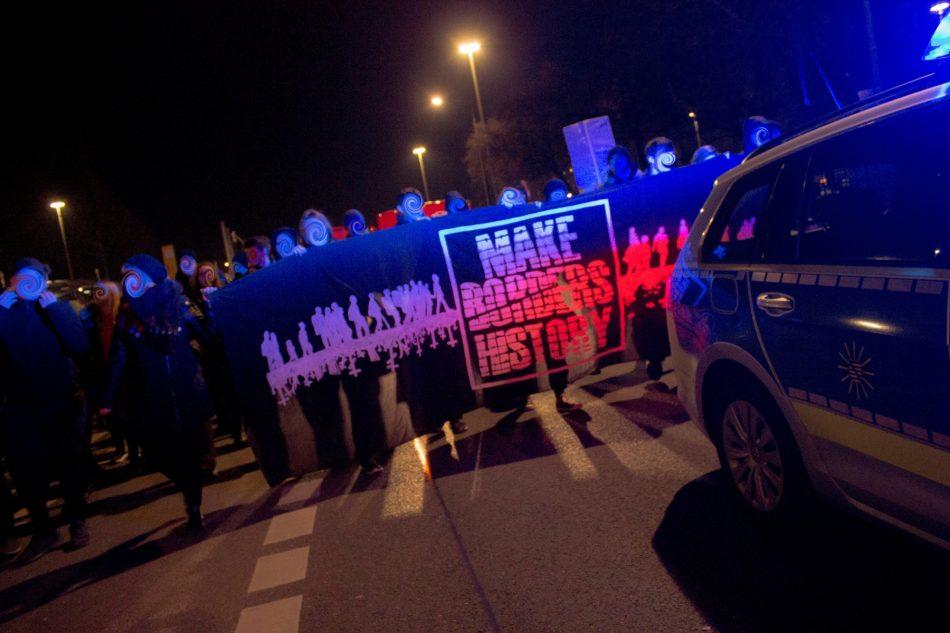Nope Demonstration in Dresden