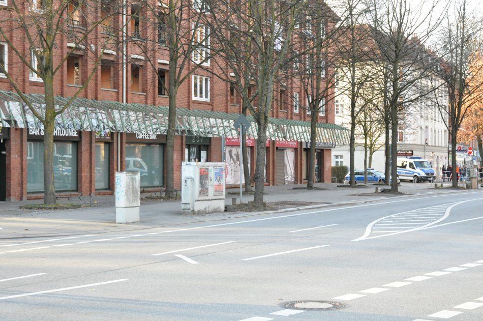 Der Thor Steinar Laden in Hamburg Barmbek