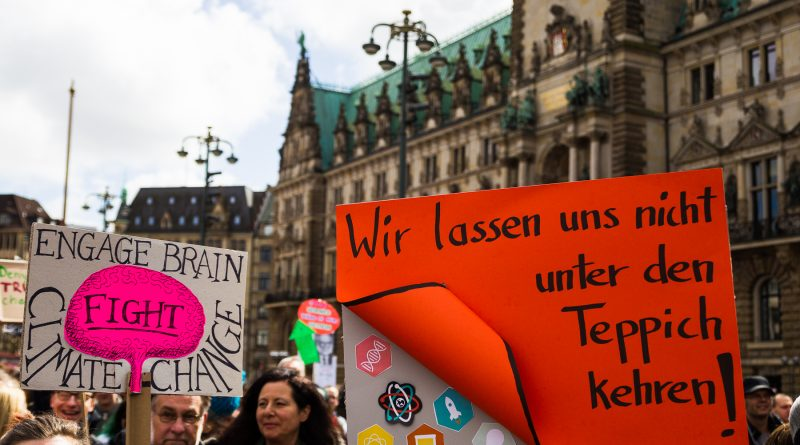 Die March for Science Demonstration in Hamburg