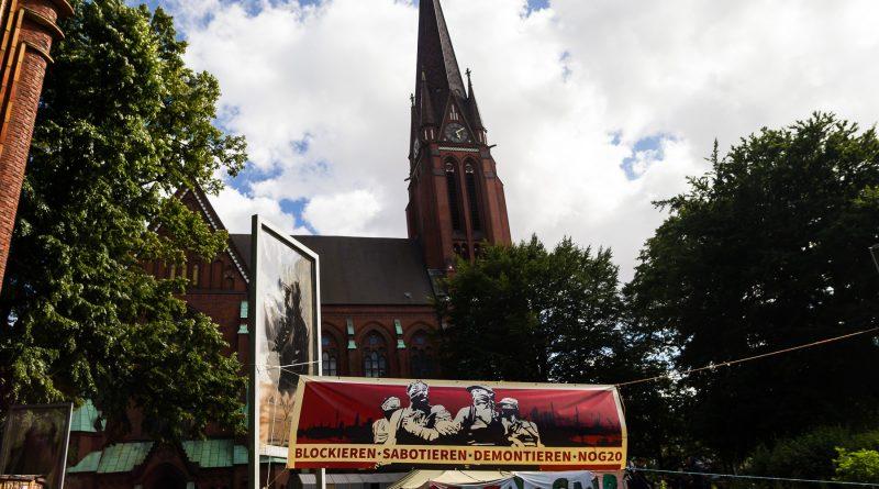 Campen und Cornern beim G20 Gipfel in Hamburg