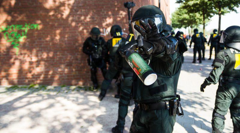 Behinderung der Pressearbeit durch die Polizei beim G20 Gipfel