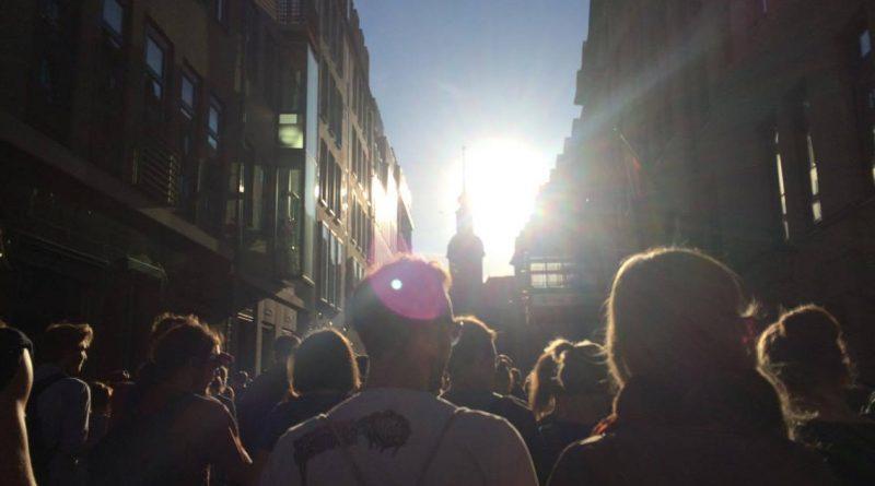 WHAT Demo gegen PEGIDA