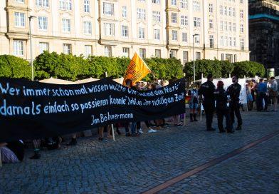 Montags in Dresden, Pegida und Gegendemo
