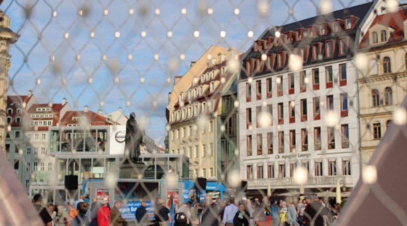 AfD-Wahlkampfauftakt in Dresden