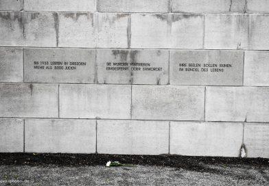Gedenken am 09. November in Dresden