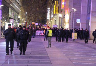 Pegida Demonstration in Dresden
