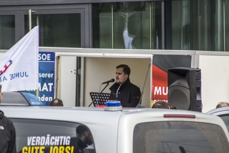 """""""JA"""" Demonstration in Dresden"""