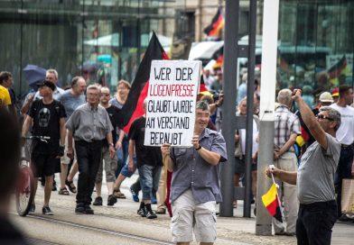 Pegida-Demonstration am 17.Juni in Dresden
